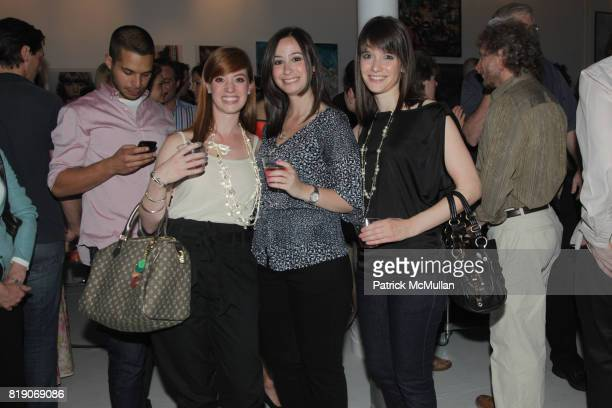 Kari Prisco Jennifer Clift and Emily Lisbon attend PYT Pretty Young Thing cocurated by Anne Huntington Diana Campbell at 833 Broadway on May 22 2010...