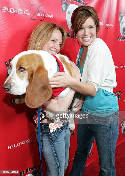 Kari Whitman and Mandy Moore during Ace of Hearts' First Annual Hollywood Dog Bowl Hosted by Mandy Moore at Lucky Strike Lanes in Hollywood...