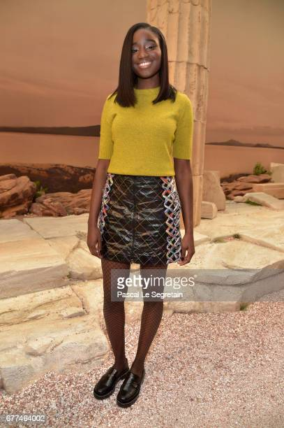 Karidja Toure attends the 'Chanel Cruise 2017/2018 Collection' at Grand Palais on May 3 2017 in Paris France