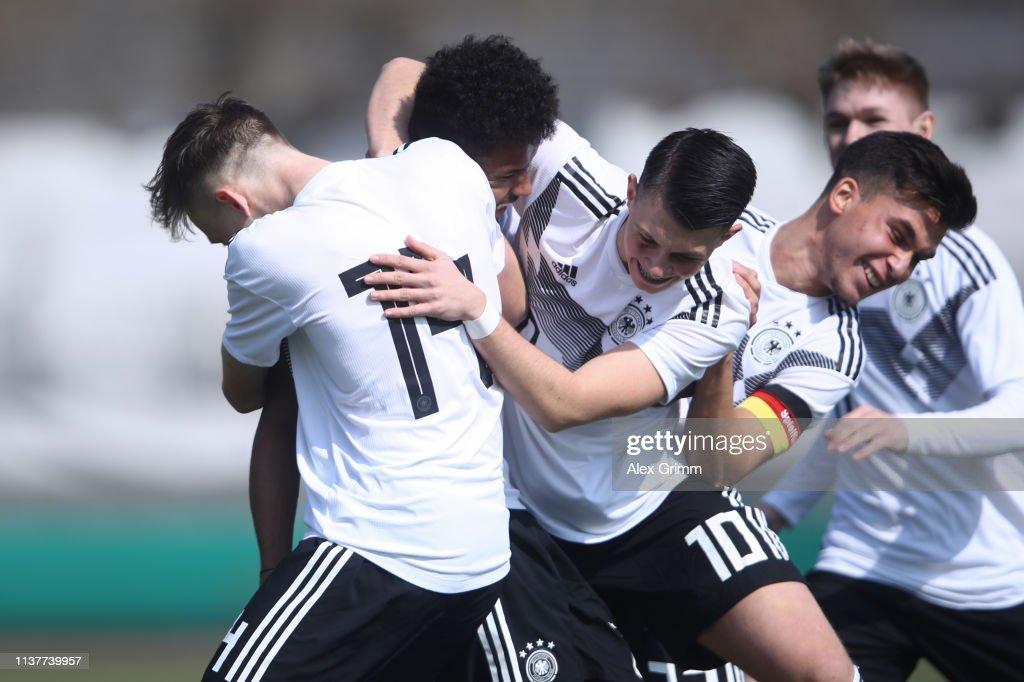 DEU: Germany U17 v Iceland U17 - UEFA Elite Round