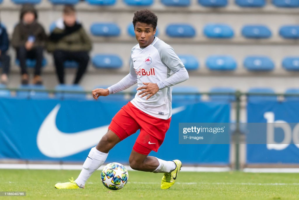 KRC Genk U19 v RB Salzburg U19 - UEFA Youth League : News Photo