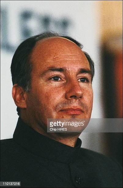Karim Aga Khan in Pakistan on March 21th1983