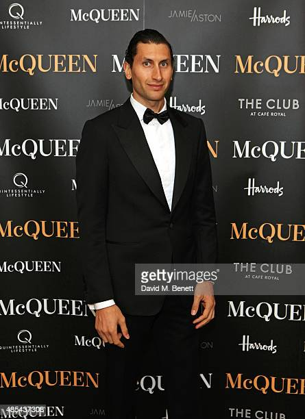 Karim Al Fayed attends the after party following the press night performance of McQueen at The Club at Cafe Royal on August 27 2015 in London England