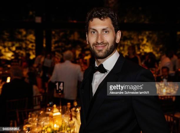 Karim AlFayed attends the 2018 amfAR gala Sao Paulo at the home of Dinho Diniz on April 13 2018 in Sao Paulo Brazil