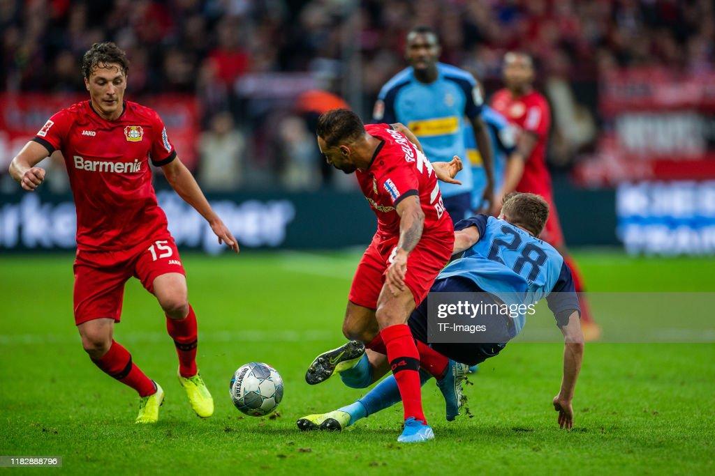 Bayer 04 Leverkusen v Borussia Moenchengladbach - Bundesliga : News Photo
