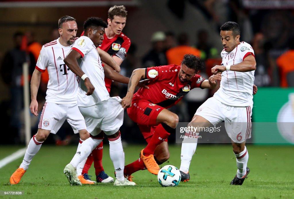 Bayer 04 Leverkusen v Bayern Munchen - DFB Cup Semi Final : News Photo