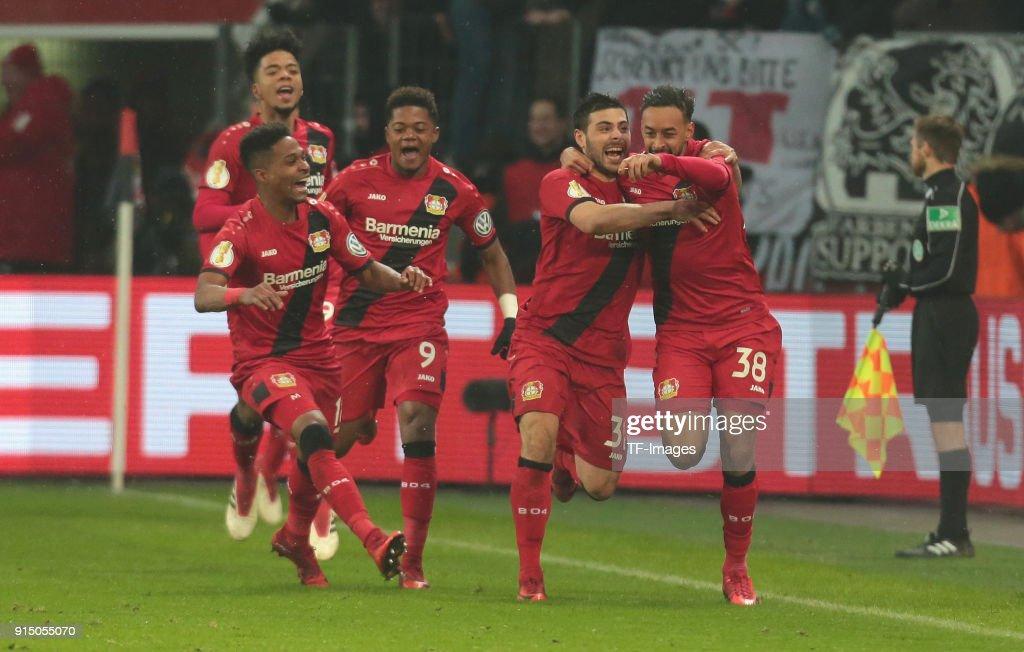 Bayer Leverkusen v Werder Bremen - DFB Cup : News Photo