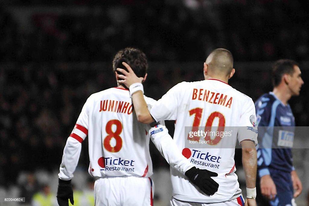 buy popular 31dec 622dc JUNINHO / Karim BENZEMA - 02.12 .2007 - Lyon / Strasbourg ...