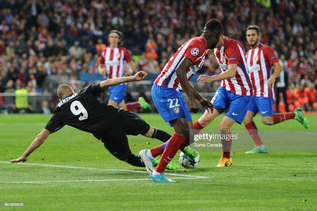 Club Atletico de Madrid v Real Madrid CF - UEFA Champions League Semi Final: Second Leg : News Photo
