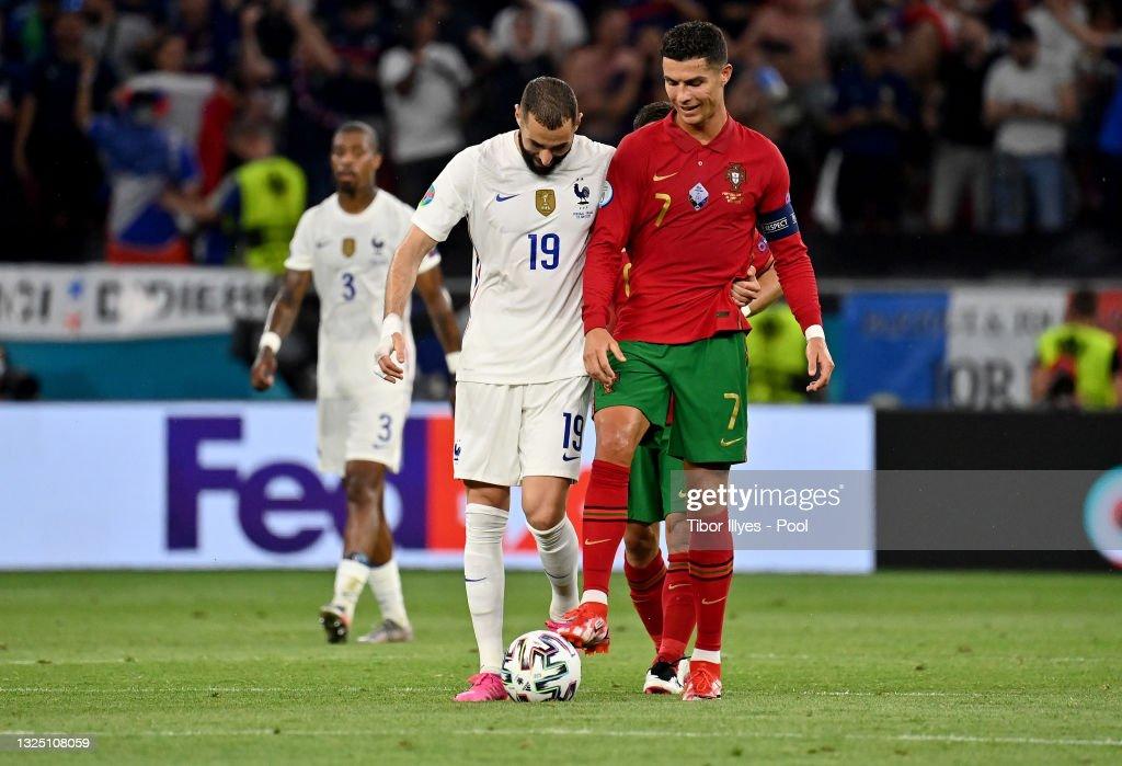 Portugal v France - UEFA Euro 2020: Group F : Photo d'actualité