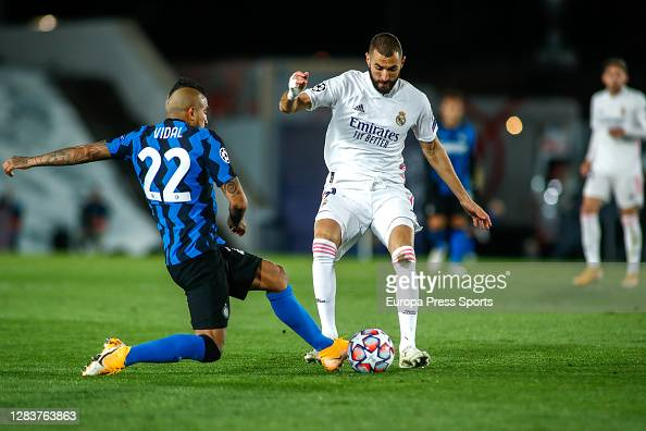 12++ Vidal Inter Vs Real Madrid