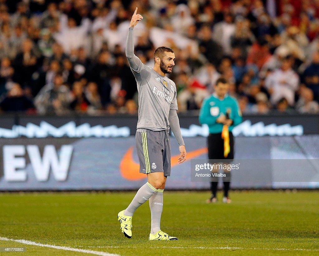 Real Madrid vs Manchester City : News Photo