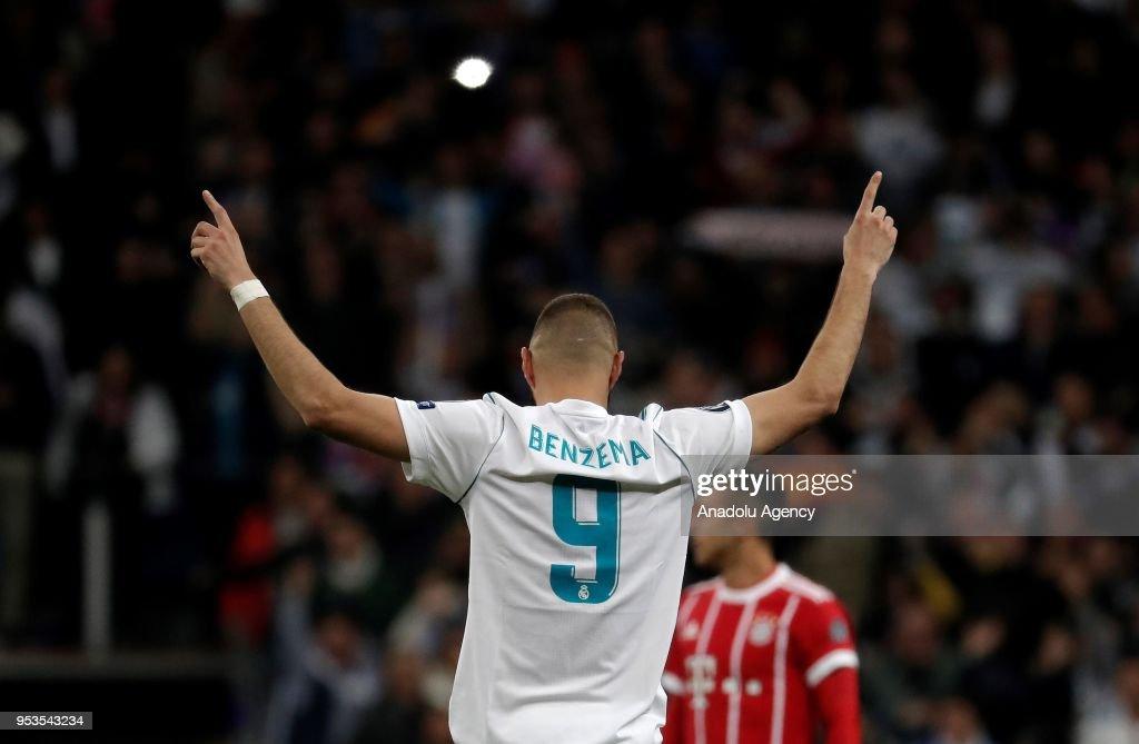 Real Madrid vs FC Bayern Munich: UEFA Champions League Semi Final : News Photo