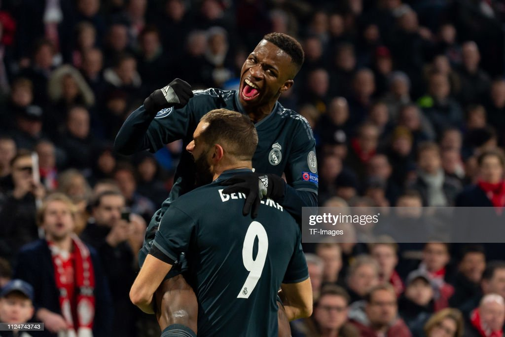 Ajax v Real Madrid - UEFA Champions League Round of 16: First Leg : News Photo