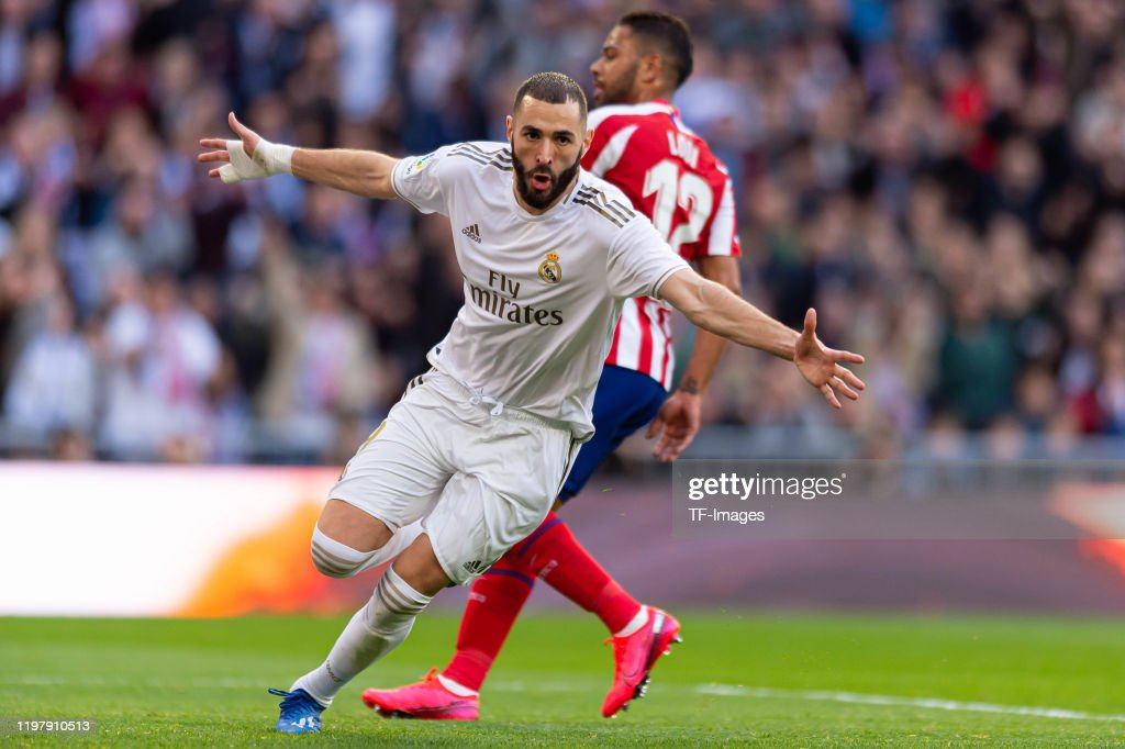 Real Madrid CF v Club Atletico de Madrid  - La Liga : Photo d'actualité