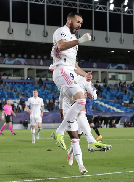 ESP: Real Madrid v Atalanta  - UEFA Champions League Round Of 16 Leg Two