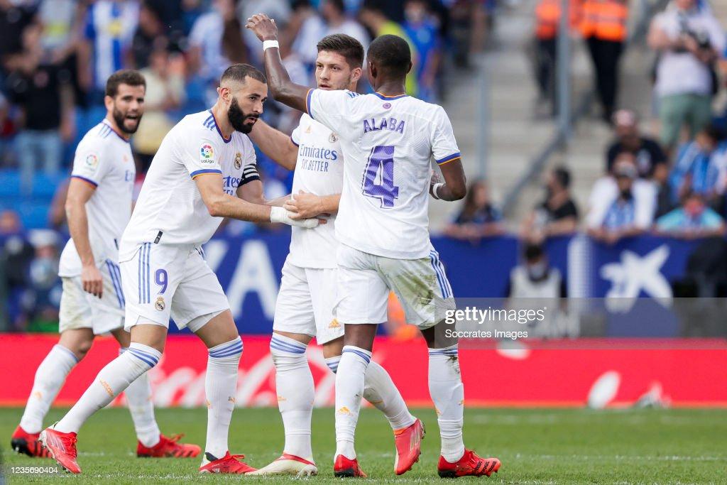 Espanyol v Real Madrid - La Liga Santander : News Photo