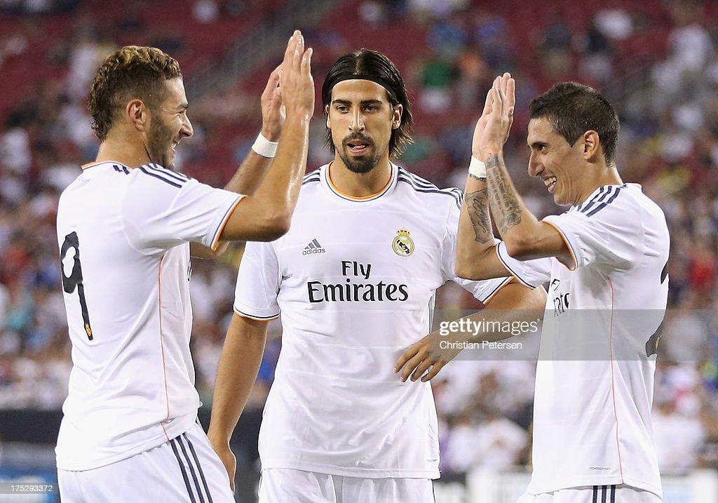Real Madrid v Los Angeles Galaxy - International Champions Cup 2013 : News Photo