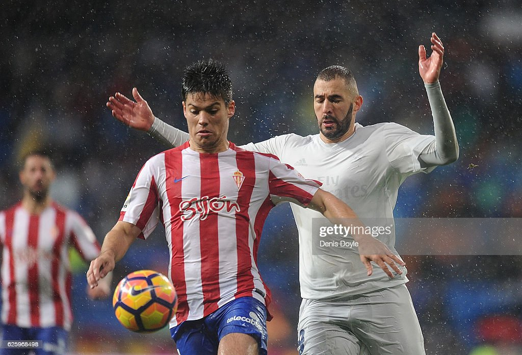 Real Madrid CF v Real Sporting de Gijon - La Liga : News Photo