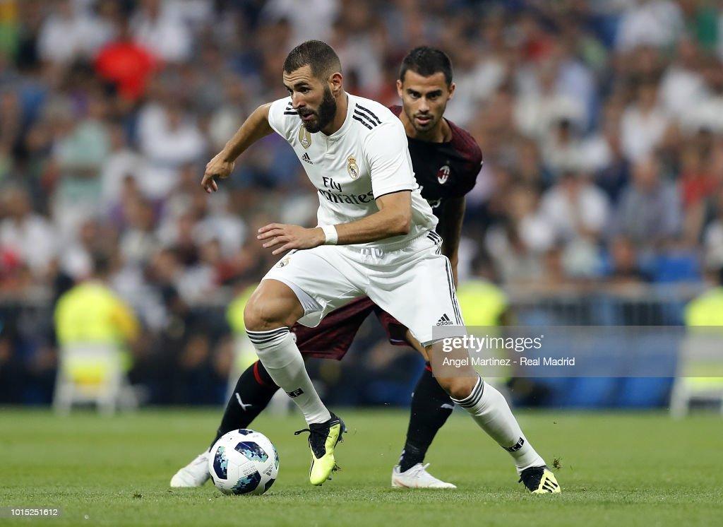 Real Madrid v AC Milan - Pre-Season Friendly : Photo d'actualité