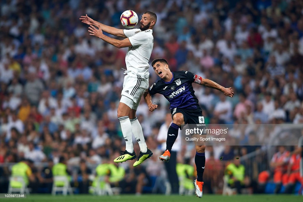 Real Madrid CF v CD Leganes - La Liga : ニュース写真