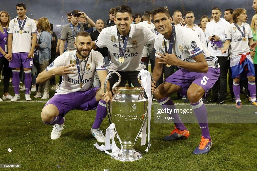 "UEFA Champions League""Juventus FC v Real Madrid"" : Foto di attualità"