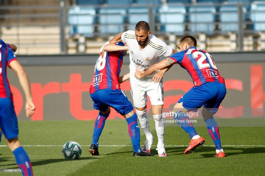 LaLiga - Real Madrid V SD Eibar : ニュース写真