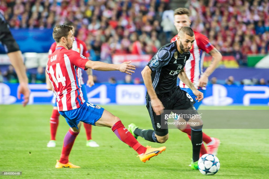 2016-17 UEFA Champions League - Atletico de Madrid vs Real Madrid : ニュース写真