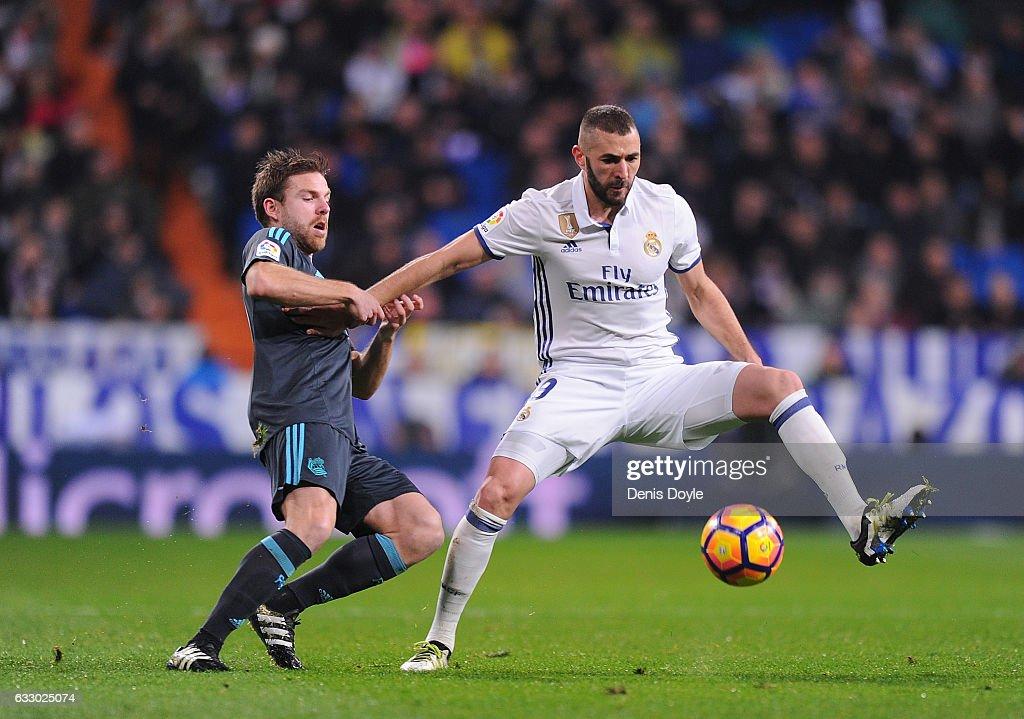 Real Madrid CF v Real Sociedad de Futbol - La Liga : ニュース写真