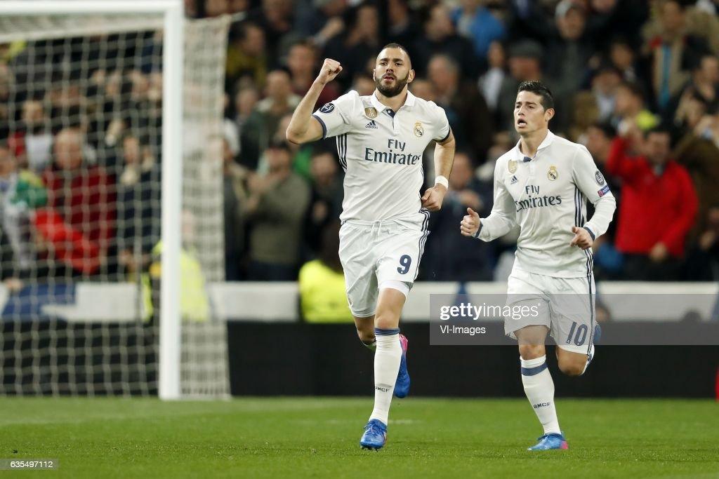 "UEFA Champions League""Real Madrid v SSC Napoli"" : News Photo"