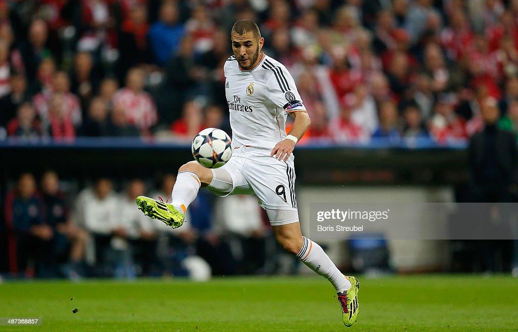 FC Bayern Muenchen v Real Madrid - UEFA Champions League Semi Final : News Photo
