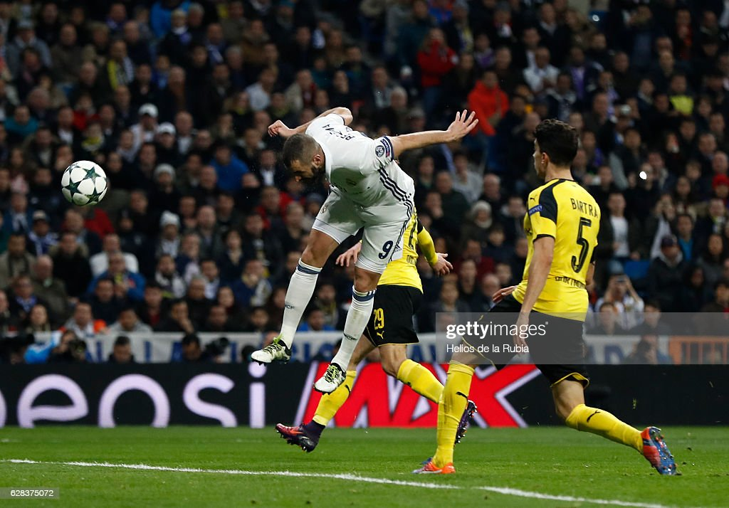 Real Madrid CF v Borussia Dortmund - UEFA Champions League : Photo d'actualité