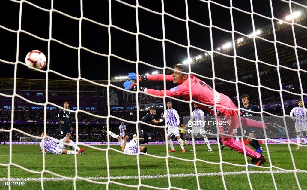 ESP: Real Valladolid CF v Real Madrid CF - La Liga