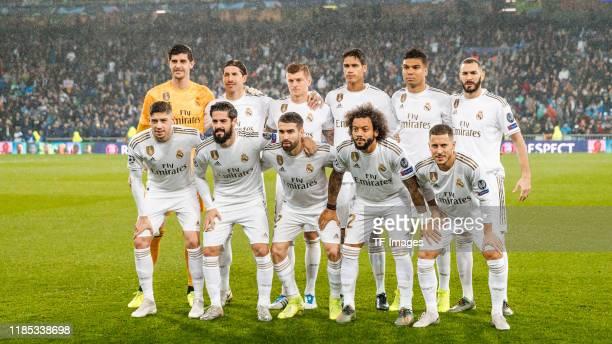 Karim Benzema, Thibaut Courtois, Sergio Ramos, Toni Kroos, Raphael Varane, Carlos Henrique Casemiro, Federico Valverde, Isco Alarcon, Daniel...