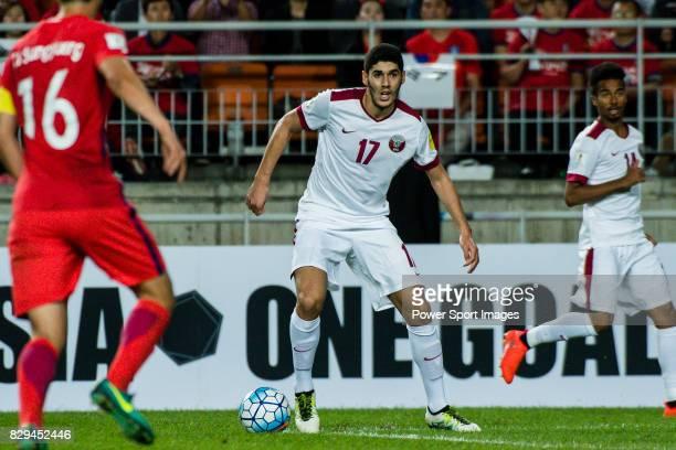 Karim Boudiaf of Qatar during the 2018 FIFA World Cup Russia Asian Qualifiers Final Qualification Round Group A match between Korea Republic vs Qatar...