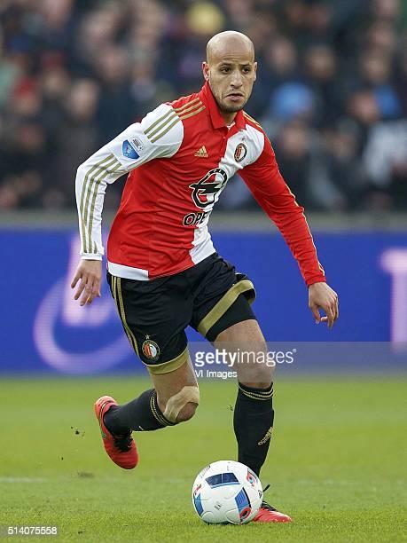 Karim El Ahmadi of Feyenoord during the Dutch Eredivisie match between Feyenoord Rotterdam and SC Cambuur Leeuwarden at the Kuip on March 06 2016 in...