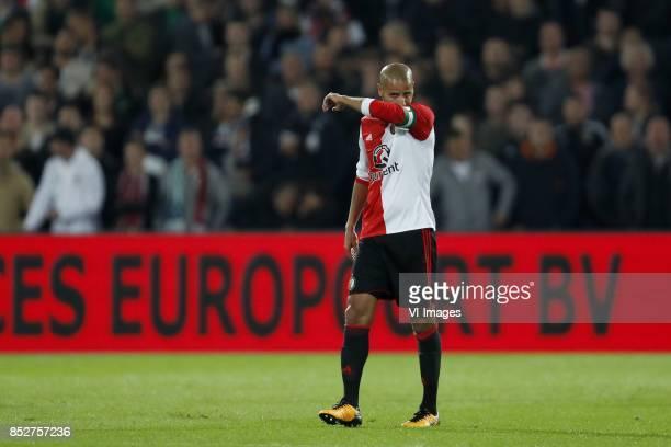 Karim El Ahmadi of Feyenoord during the Dutch Eredivisie match between Feyenoord Rotterdam and NAC Breda at the Kuip on September 23 2017 in...