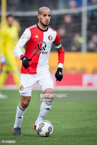 Karim El Ahmadi of Feyenoord during the Dutch Eredivisie match between VVV Venlo and Feyenoord Rotterdam at Seacon stadium De Koel on February 04...