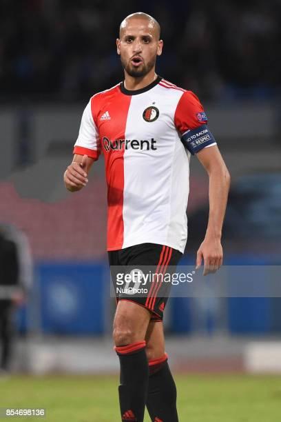 Karim El Ahmadi of Feyenoord during the UEFA Champions League Final match between SSC Napoli and Feyenoord at Stadio San Paolo Naples Italy on 27...