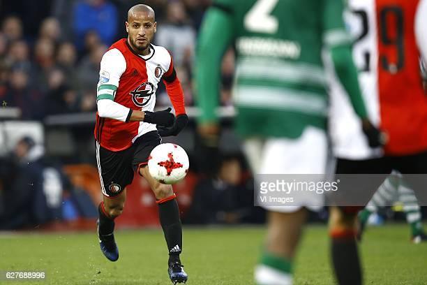 Karim El Ahmadi of Feyenoord Rotterdamduring the Dutch Eredivisie match between Feyenoord Rotterdam and Sparta Rotterdam at the Kuip on December 04...