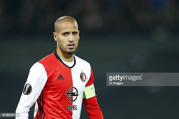 Karim El Ahmadi of Feyenoordduring the Europa League group A match between Feyenoord and Zorya Luhansk on October 20 2016 at the Kuip stadium in...