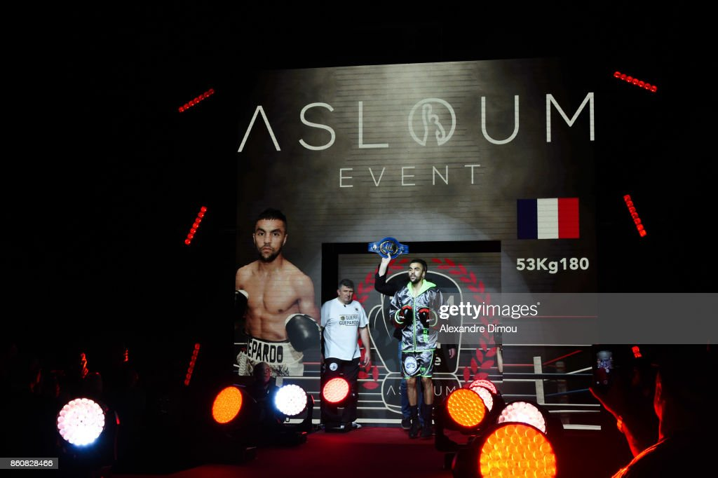 Karim Guerfi of France during the Boxitanie Event on October 12, 2017 in Montpellier, France.