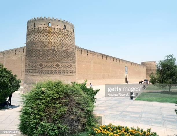 karim khan castle, shiraz, iran - shiraz stock pictures, royalty-free photos & images