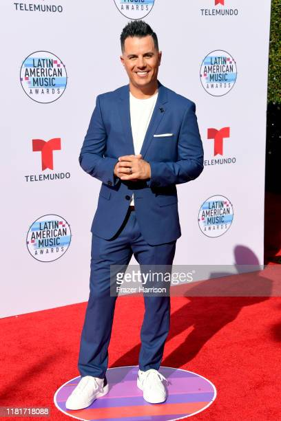 Karim Mendiburu attends the 2019 Latin American Music Awards at Dolby Theatre on October 17 2019 in Hollywood California