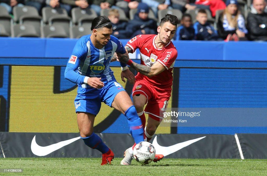 DEU: Hertha BSC v VfB Stuttgart - Bundesliga