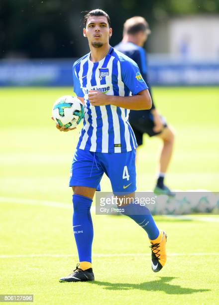 Karim Rekik of Hertha BSC during the first training session on july 3 2017 in Berlin Germany
