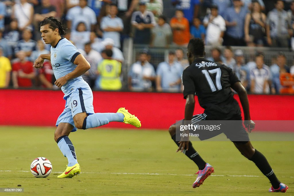 Manchester City v Sporting Kansas City