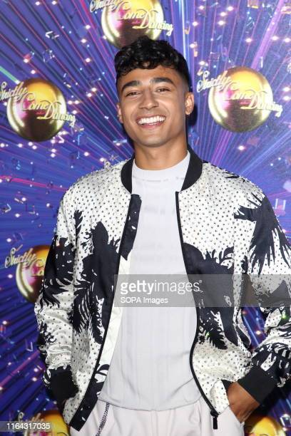 Karim Zeroual at the Strictly Come Dancing Launch at BBC Broadcasting House in London