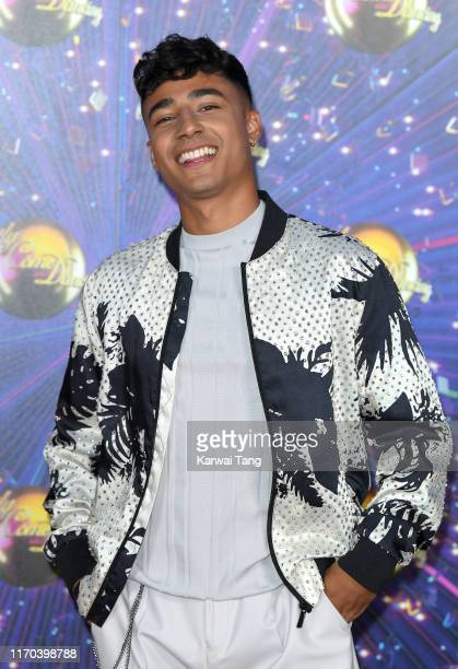 Karim Zeroual attends the Strictly Come Dancing launch show red carpet arrivals at Television Centre on August 26 2019 in London England