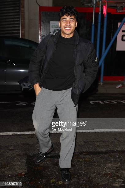 Karim Zeroual seen at BBC Radio 2 ahead of the Strictly Come Dancing 2019 Final on December 11 2019 in London England